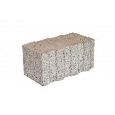 Камень полнотелый, паз продольный, 390х200х188 мм, Термокомфорт, М25, арт. 3511