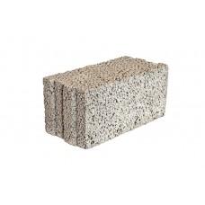 Камень полнотелый, паз поперечный, 400х190х188 мм, Термокомфорт, М25, арт. 3611